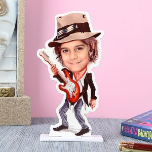 Customised Rockstar Caricature - Marriage Anniversary Gifts Online