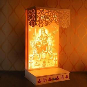 Decorative Corian Maa Sherawali - Diwali Gifts Online in India