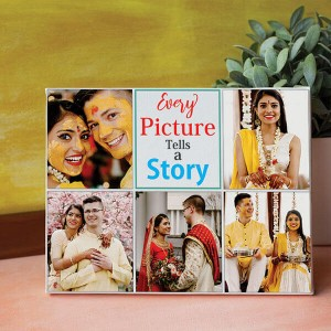 Story with Picture Personalized Canvas - Personalised Photo Frames Online