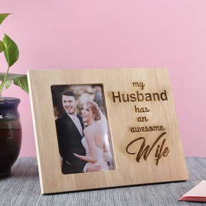 Customised Awesome Wife Photo Frame - Personalised Photo Frames Online
