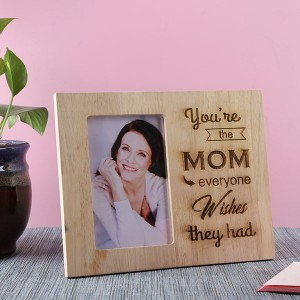 Customised Mom Wooden Frame