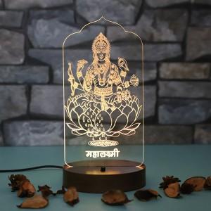 Personalised Maa saraswati led lamp - Personalised LED Lamp Online
