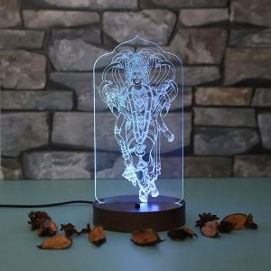 Personalised Lord Bishnu led lamp - Personalised LED Lamp Online