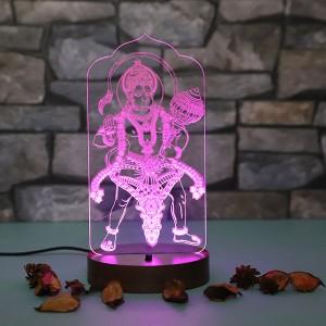 Personalised Bajrangwali led lamp - Personalised LED Lamp Online