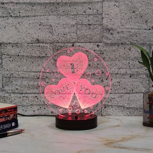 I Love You from Heart Led Lamp
