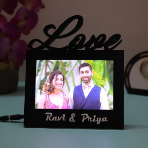 Customised Love LedLamp - Personalised Photo Frames Online