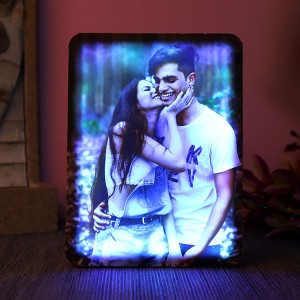 Personalised Beautiful Led Lamp - Personalised Photo Frames Online