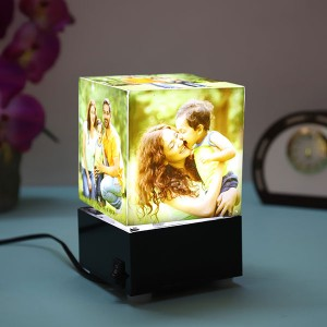 Personalised Rotating Lamp