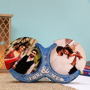Personalised You & Me Photo Frame - Marriage Anniversary Gifts Online
