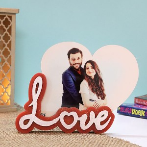 Personalised Love Photo Frame - Personalised Photo Frames Online