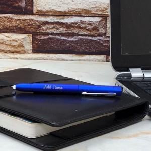 Personalised Royal Blue Glow Pen