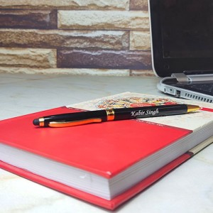 Personalised Pen With Mobile Touch Stick