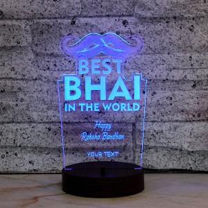 Bhai Personalised LED Lamp