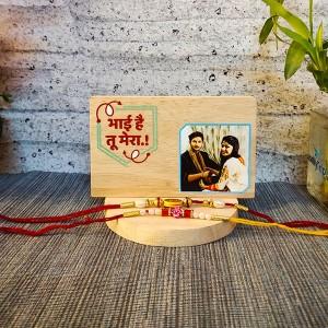 Plaque with Rakhi