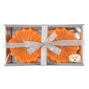 Pure Wax Floating Sun Flower Candle Pack of 2 - Fragrant Candles Online