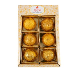 Golden Shimmer Ball Candle Pack of 6 - Fragrant Candles Online