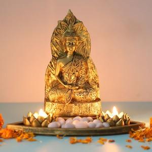Divine Buddha in a Tray
