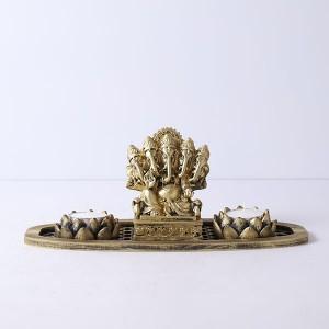Panchmukhi Ganesha Gift Set - T Light Holder Online