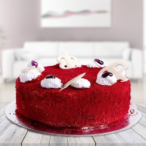 Red velvet Cake - Send Cakes to Noida Online