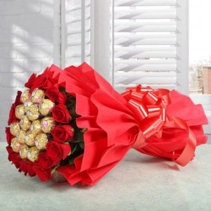 Rocher Bouquet - Flower Delivery in Bangalore