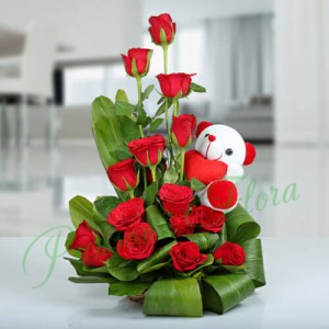 The Beauty of Nature Basket - Flower Delivery in Bangalore
