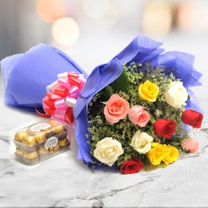 Simple Mix Emotions - Flower Delivery in Bangalore