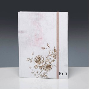 Personalised Peony A5 Diary