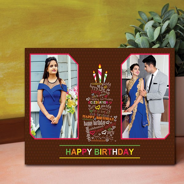 Birthday Personalized Canvas