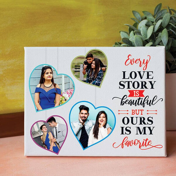 Favourite Love Story Canvas