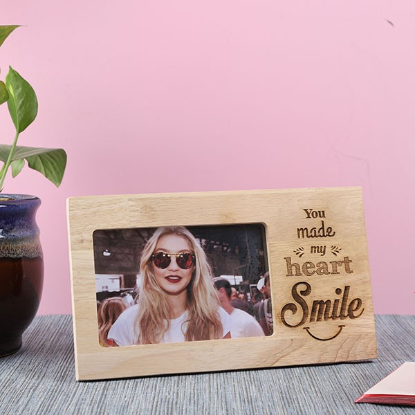 Customised Life with Friends Wooden Frame