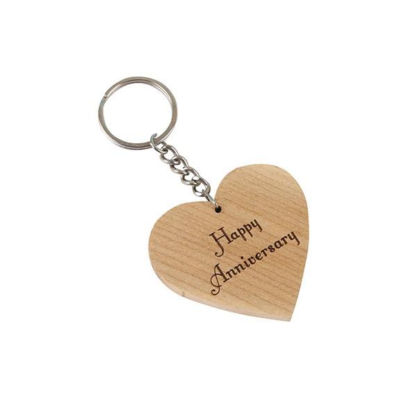 Engraved Wish Key Chain
