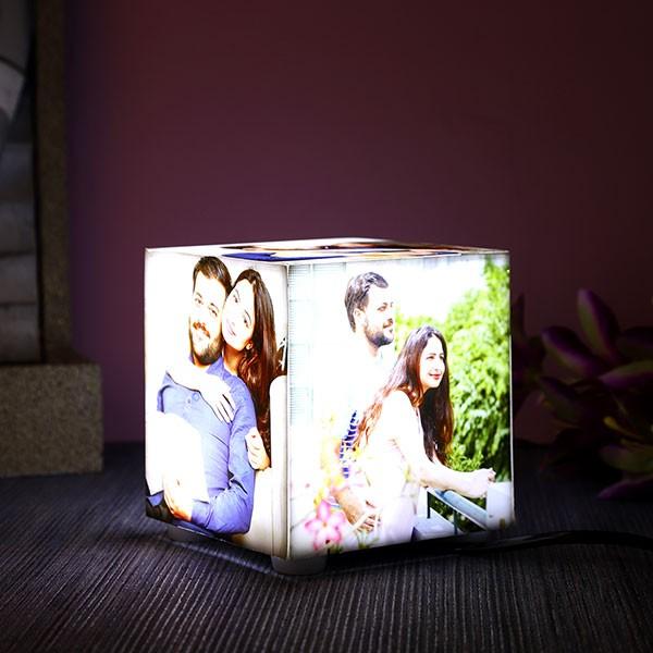 Personalised 5 sides Acrylic Photo Lamp