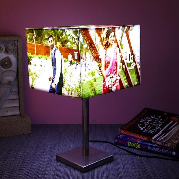 Personalised Cube Glowing Lamp