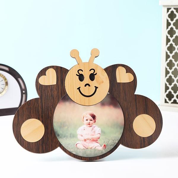Customised Kids Butterfly Shape Photo Frame