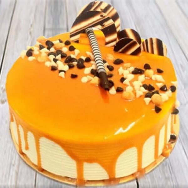 Appetizing Butterscotch Cake