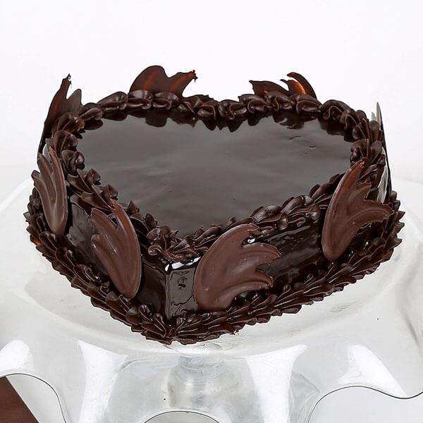 Online Love Heart Chocolate Truffle