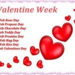 Romantic Days of Valentine Week