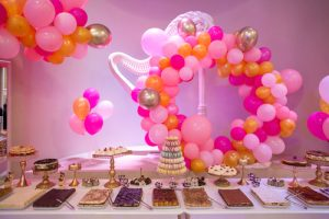 Birthday Wall And Balloon Decoration Ideas At Home
